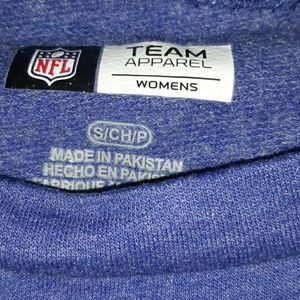 NFL Tops - NWOT NFL Team Apparel fitted sweatshirt